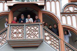 La Punkaravane spielt zum Stadtfest in Pößneck